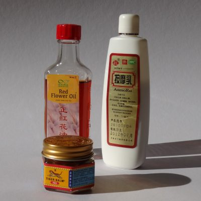 Chinese herbal oils and creme